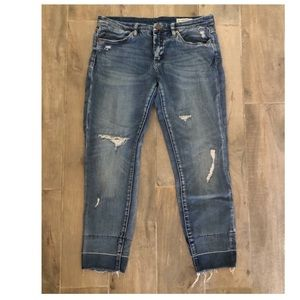 BLANK NYC Distressed skinny jeans Size 30